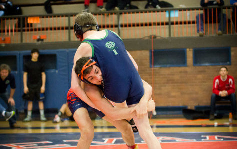 Wrestling falls at State