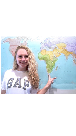Kiley Leff will take on South Africa before college