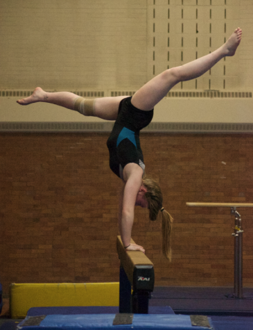 New talent leads girls gymnastics to strong start