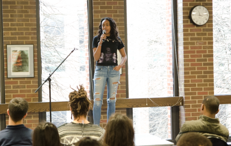 Students compete at Poetry Out Loud event