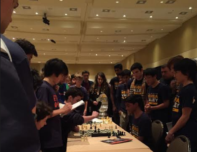 Chess Team rises to the challenge in State Tournament