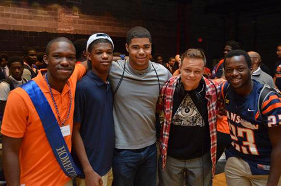 Evanston+Hosted+a+Black+Male+Summit+to+Inspire+Students