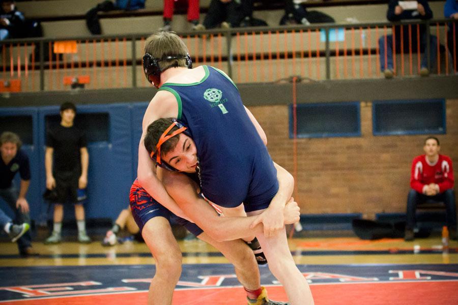 Wrestling falls at State