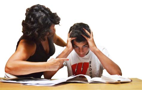 Parental pressure puts kids over the edge