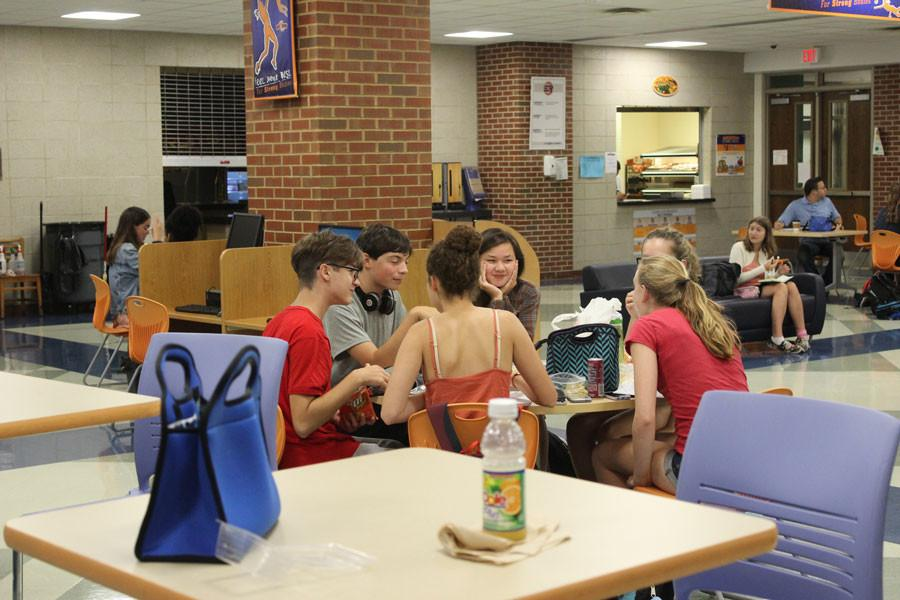 Bacon Study Cafe offers students new opportunities to succeed