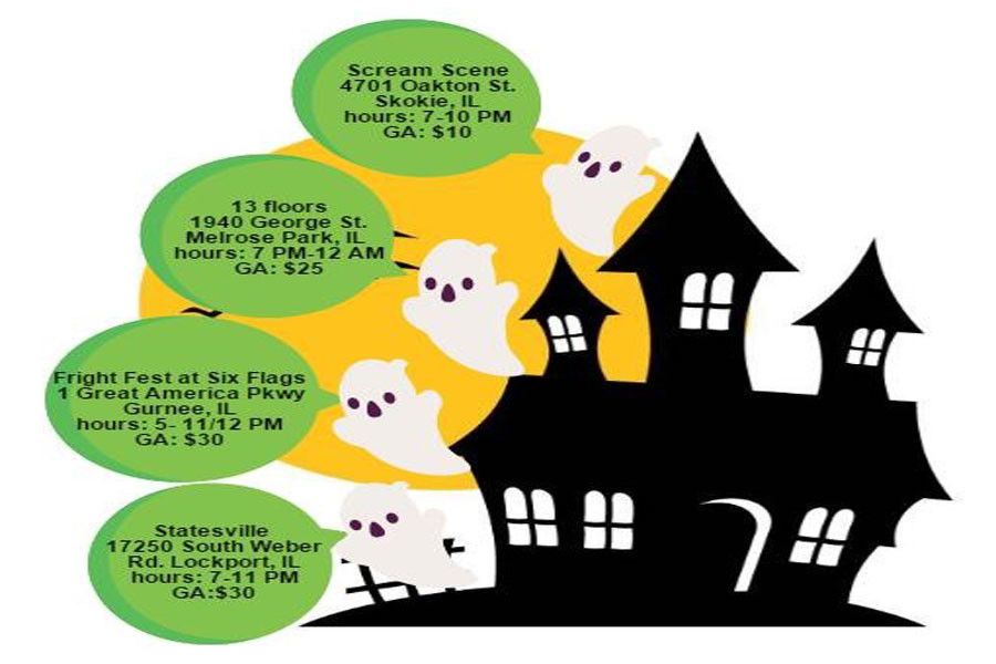 Click the above image for a haunted house schedule.