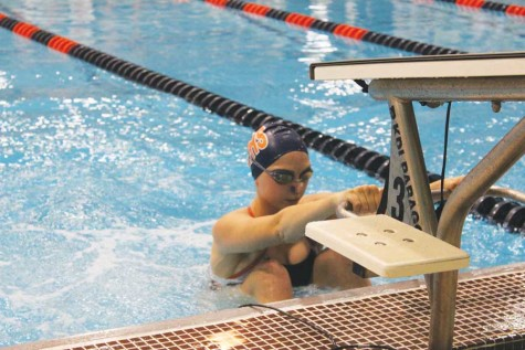 Girls swimming looks for consistency in meet against Deerfield