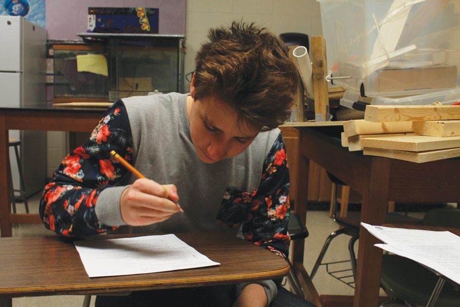 Do it over: Students correct their mistakes through test retakes