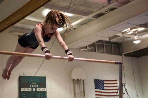 Girls gymnastics ends with strong regional meet