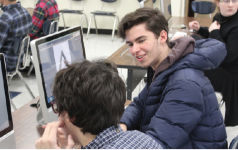Graphic Design students create posters for theater productions