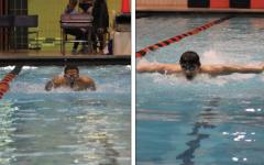 Boys swimming preps for conference in regular season finale