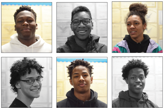 Jacaree Masupha, senior; Anthony Calhon, senior; Jayson Sawyer, junior; Ross Bostick, senior; Zion Waite, junior; Adama Diakhate, junior.