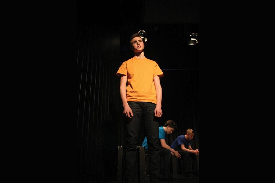 Student+Sam+Blustein+performs.+