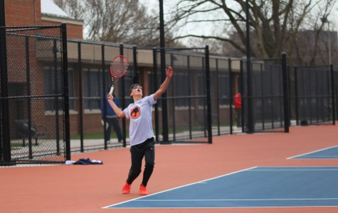 Tennis is eager for wins at the Prospect Power Eight Invite tomorrow