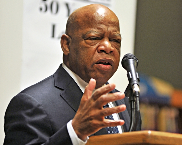 John Lewis' March brings freshmen together