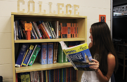 Senior Sophie Hamrick explores her options for life after high school