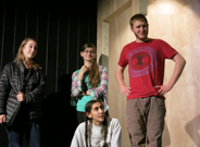 Frosh-soph actors prepare for the production