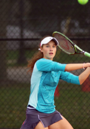 Goncharova excels at Girls Tennis