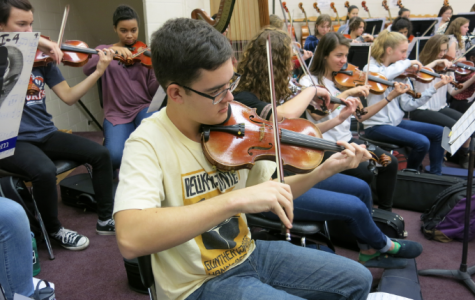 Holiday concert unites music programs