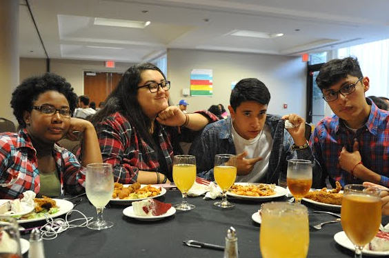 Students attend the SOAR conference