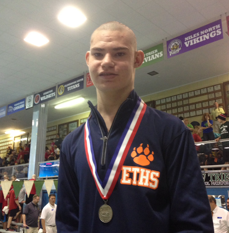 Holzmueller has overcome many challenges during his swim career at ETHS