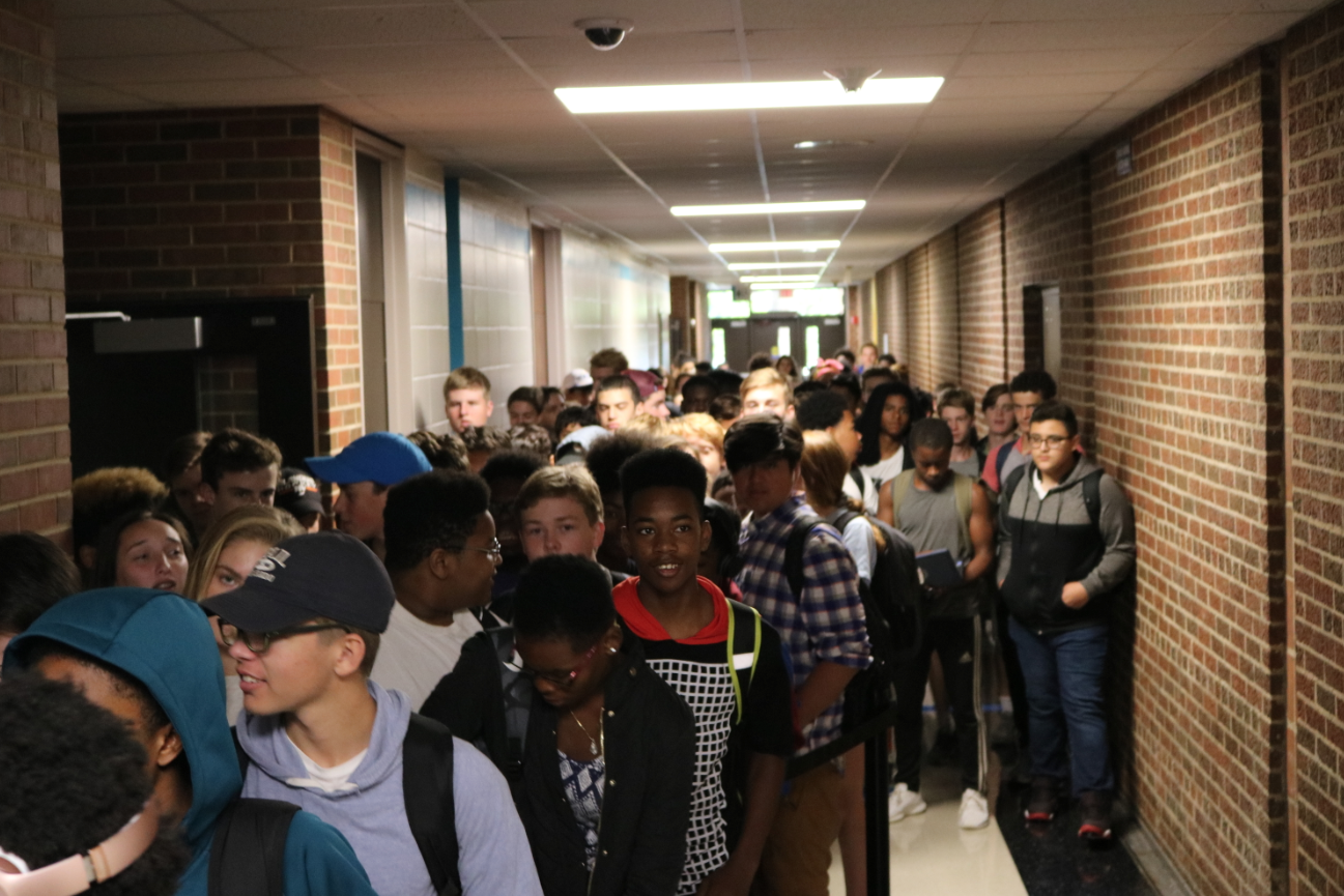 Adjustments made to accommodate large freshmen class