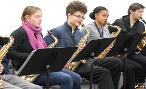 Jazz Band showcases skills at Big Band concert