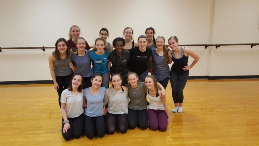 The ETHS Dance Company will take the stage on December 20th for their annual winter showcase.
