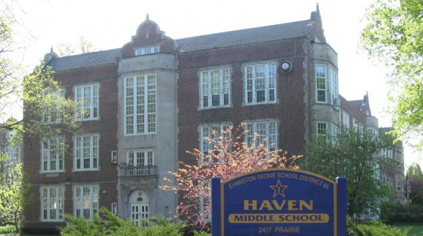 Haven Middle School is one of the main feeder schools for ETHS.