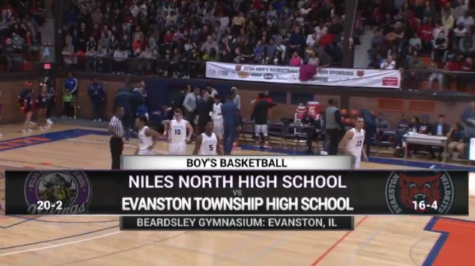 ETHS vs. Niles North Basketball Highlights