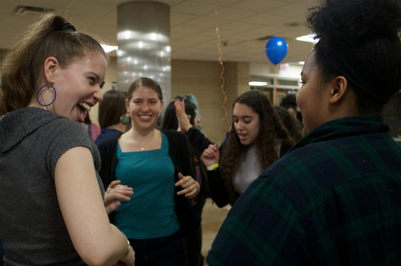 Students attend the Latinx summit.