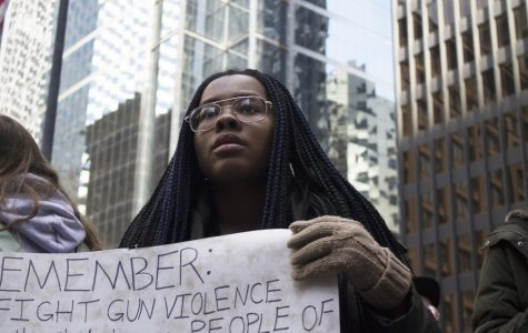 Chicago students protest gun violence