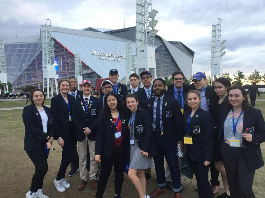 The+ETHS+DECA+team+had+a+terrific+showing+at+nationals+in+Atlanta%2C+GA.