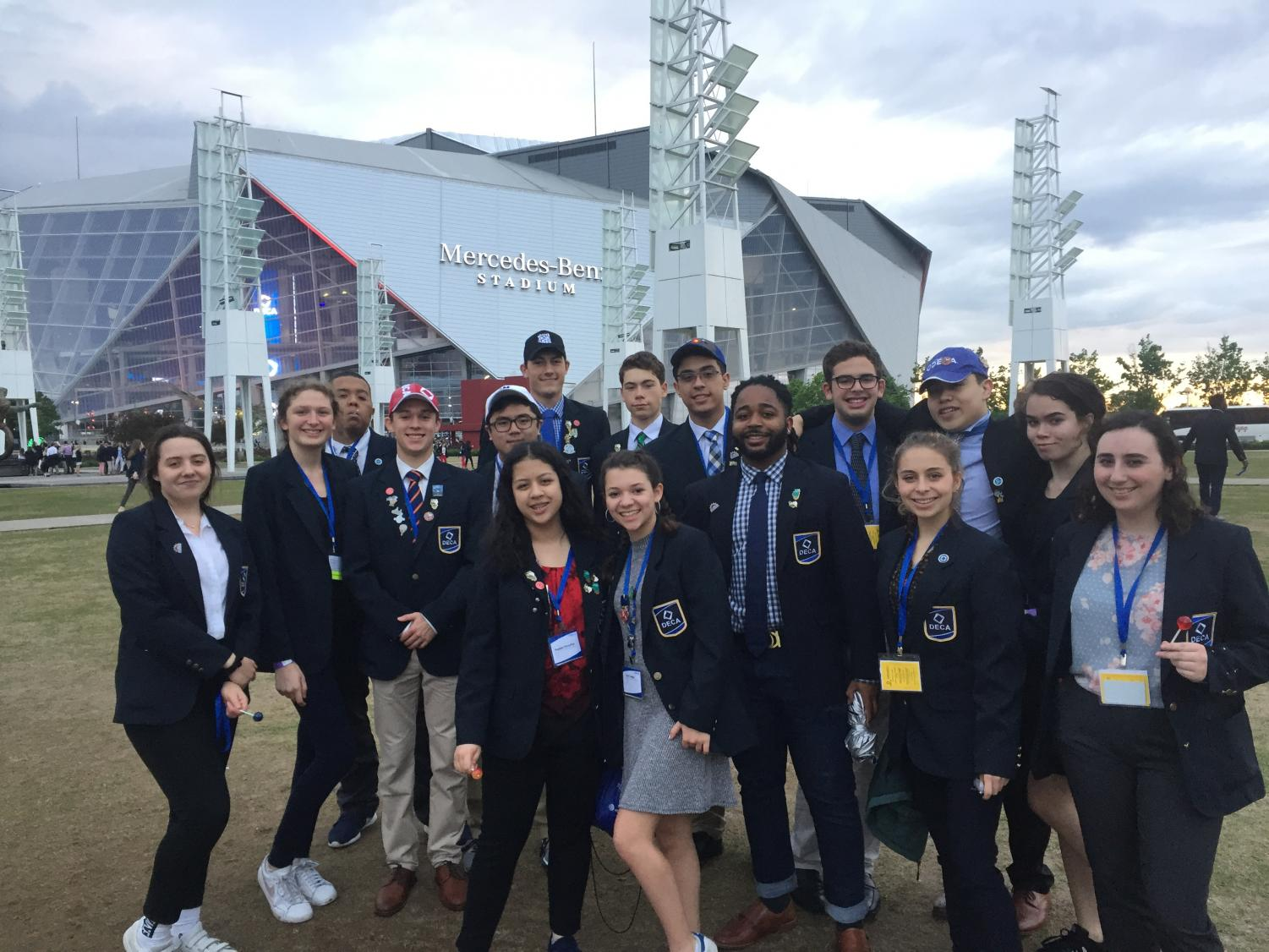 The ETHS DECA team had a terrific showing at nationals in Atlanta, GA.