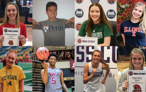 8 Kits commit to Division 1 athletics at Fall National Signing Day