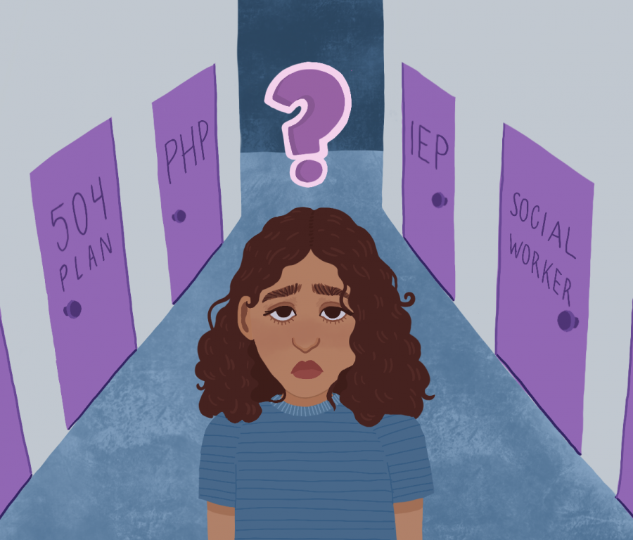 Students recount experiences with mental health services