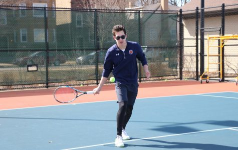 Offseason effort sparks excitement for boys tennis