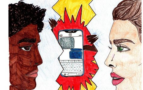Let's talk, not text: technology should not be used to resolve conflict