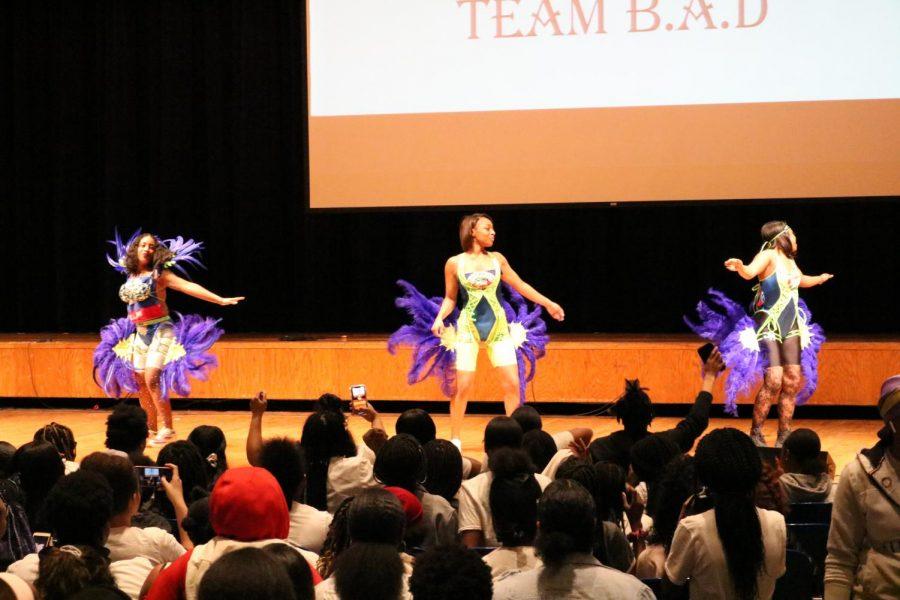 Team B.A.D. Dancers at the Black Summit on Feb. 20.