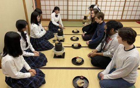Students explore Japanese language, culture through school trip