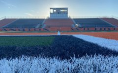 Lazier Field is empty following the statewide stay-at-home order that has cut short or cancelled many senior Wildkits'  seasons.