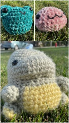 Sophomore Joan Camaya has taken her initially hobby-oriented crocheted creations and turned them into a money-making venture by taking commissions from both teachers and students.